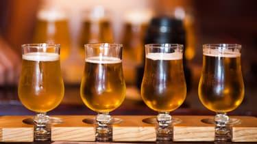 Les verres ronds favorisent une descente plus rapide, selon une étude.