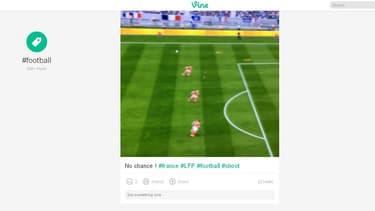 Vine permet de publier des vidéos de quelques secondes.