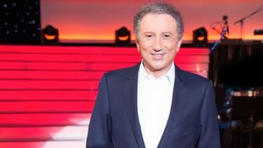 """MIchel Drucker sur le plateau du """"Grand Show"""""""