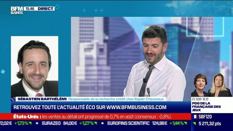 Sébastien Barthélémy (Kepler Cheuvreux) : Hausse des coûts des matières premières, quel impact sur le financement des entreprises ? - 16/09