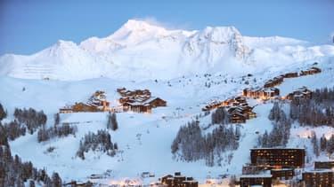 La station de ski de La Plagne, en janvier 2010 (illustration)