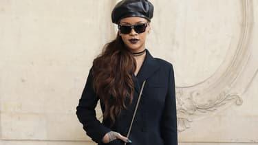 Rihanna au défilé Dior le 3 mars 2017 à Paris