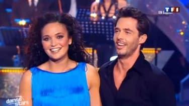 Grégory Guichard avec Valérie Bègue en 2011