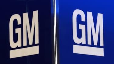 Le logo de General Motors (GM).