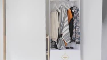 Des vêtements de la marque Pimkie seront directement placés dans le dressing des chambres d'hôtel. Il n'y a plus qu'à se servir.