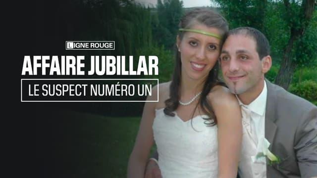 Delphine et Cédric Jubillar lors de leur mariage.