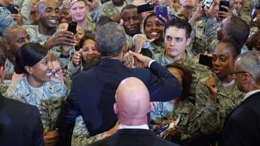 Barack Obama a confirmé qu'il n'y aurait pas de soldats américains au combat.