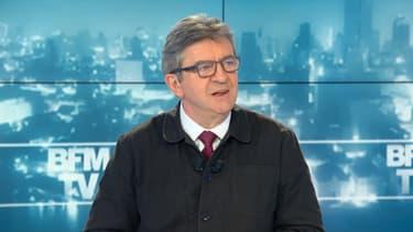 Jean-Luc Mélenchon, invité sur BFMTV le 26 avril 2019