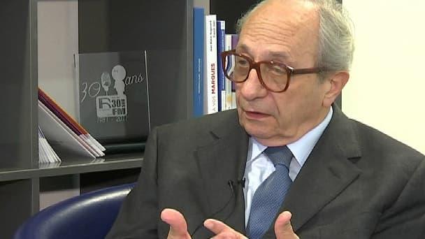 Le président de la Commission nationale des comptes de campagne et des financements politiques, François Logerot.