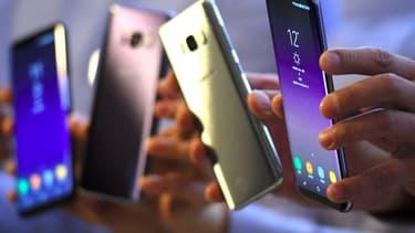 Samsung s'est adjugé 22,8% du marché des smartphones au premier trimestre.