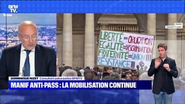 Manif anti-pass : la mobilisation continue - 24/07