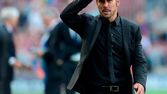L'entraîneur de l'Atlético Madrid ne voit pas de Messi ou de Ronaldo dans son équipe.