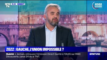 """LFI et les Verts, une alliance impossible: """"Yannick Jadot n'a jamais eu l'intention, hormis d'être candidat lui-même, de faire autre chose"""" pour Alexis Corbière"""