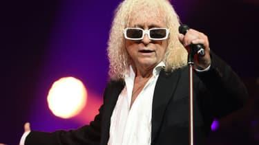 Michel Polnareff en concert à Epernay. -