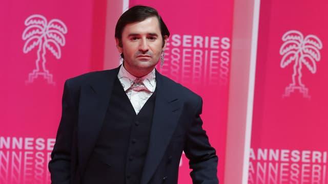 Nicolas Maury lors du festival Canneseries en 2020