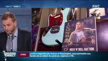 Seriez-vous prêt à acheter un gilet troué (de Kurt Cobain) pour 50.000 dollars?