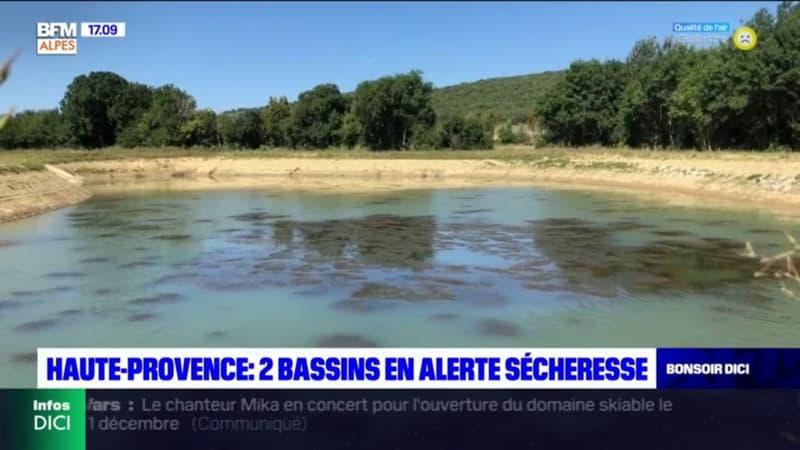 Alpes-de-Haute-Provence : deux bassins placés en alerte sécheresse