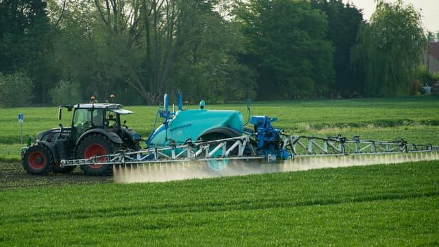 Baisse de la ventes des pesticides.