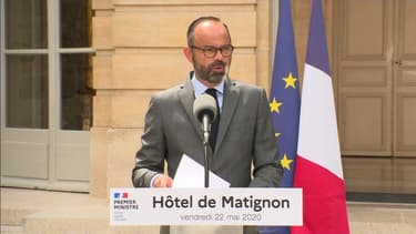 Edouard Philippe le 22 mai 2020