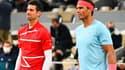 Djokovic et Nadal
