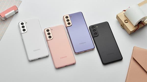 Les différents coloris du Samsung Galaxy S21