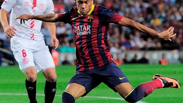 Neymar, l'attaquant du Barça