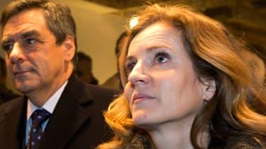 François Fillon est venu soutenir pour la seconde fois NKM lors de l'inauguration de la permanence du candidat UMP du 4e arrondissement de Paris.