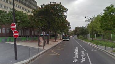 La victime a été retrouvée dans cette zone, à Paris.