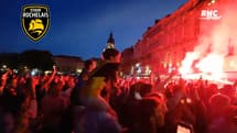 Top 14 : L'explosion de joie des supporters rochelais après la qualification en finale