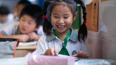 L'étude a été menée sur des filles chinoises adoptées très jeunes au Canada (illustration)