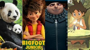 """""""Nés en Chine"""", """"Bigfoot Junior"""", """"Moi, moche et méchant 3"""" et """"Yo-Kai Watch"""" seront en salles cet été."""