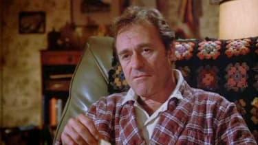 Dick Miller dans le rôle de Murray Futterman dans le film Gremlins