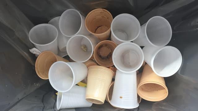 Une fois le café bu, le gobelet plastique vient gonfler la masse des déchets. Sauf s'il est réutilisable.