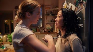 """Jodie Comer et Sandra Oh dans """"Killing Eve"""""""