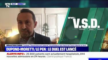 """Sébastien Chenu: """"Éric Dupond-Moretti est le symbole du laxisme judiciaire"""""""
