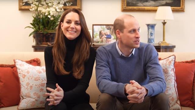 Le prince William et Kate Middleton dans leur première vidéo YouTube