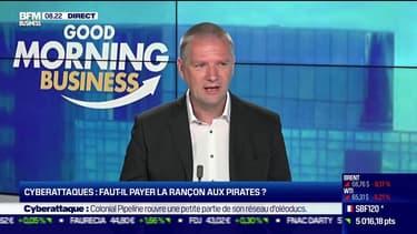"""Guillaume Poupard (Directeur général de l'Agence nationale de la sécurité des systèmes d'information): """"Des assureurs se sont lancés sur le marché (français des rançongiciels) sans aucune éthique"""""""