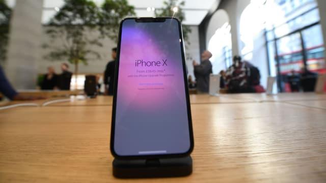 L'iPhone X est commercialisé depuis ce vendredi