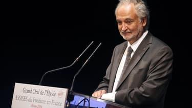 """L'économiste et président de la fondation """"Planet Positive"""" Jacques Attali, le 9 septembre 2016 à Reims."""