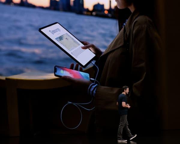 Il sera possible de charger son iPhone avec un USB-C vers Lightning.