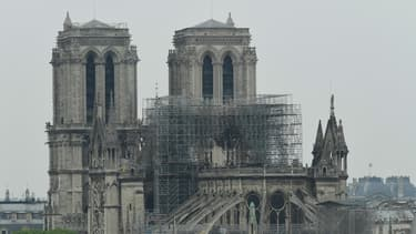 Le chanter de Notre-Dame est interrompu en raison de l'épidémie de coronavirus.