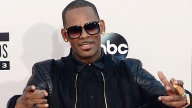 Le chanteur R. Kelly aux American Music Awards à Los Angeles en 2013