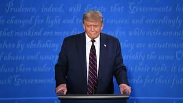 Donald Trump à Cleveland (Ohio) le 29 septembre 2020