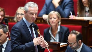 Bruno Le Maire, ministre de l'Économie