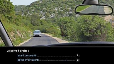 Les questions où les candidats ont le plus échoué ont été retirées le 10 mai de l'examen du code de la route.