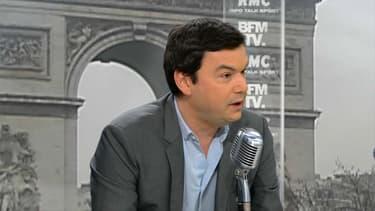 Thomas Piketty, invité de BFMTV-RMC.
