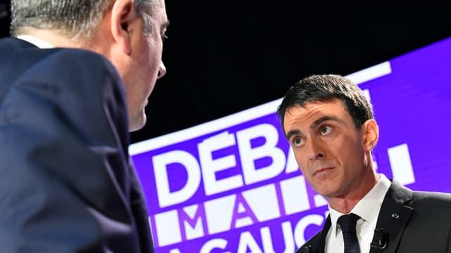 L'ancien Premier ministre Manuel Valls avant le deuxième débat de la primaire à gauche (photo d'illustration).