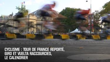 Cyclisme : Tour de France reporté, Giro et Vuelta raccourcies, le calendrier