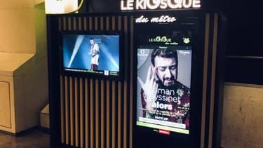"""Le """"Kiosque du métro"""" inauguré à Saint-Lazare"""