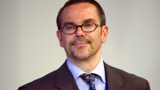 Le porte-parole du ministère français des Affaires étrangères, Romain Nadal, le 23 mai 2012 à Bruxelles